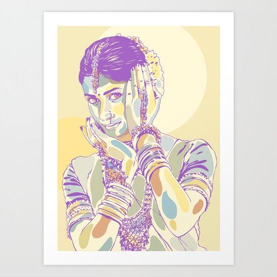 Anuradha Art Print