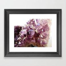 Wonderful Amethyst! Framed Art Print