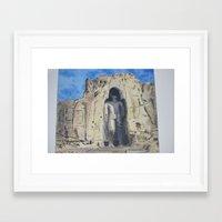 buddah Framed Art Prints featuring Lost Buddah by Ronaldo Castro