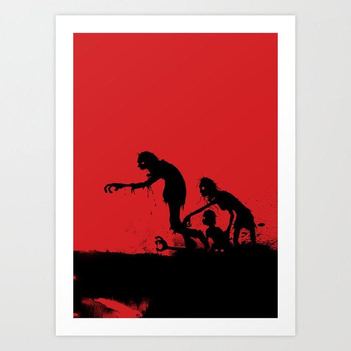 Better Red Than Dead Art Print