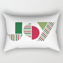 JOY text design Rectangular Pillow