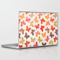 karu kara Laptop & iPad Skins featuring BUTTERFLY SEASON by Daisy Beatrice