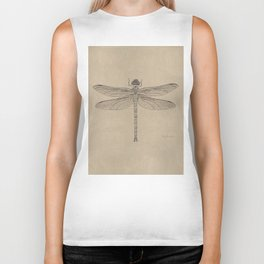 Dragonfly Fossil Dos Biker Tank