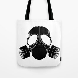 Gas mask Tote Bag