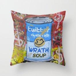 Wrath Soup Preserves Throw Pillow