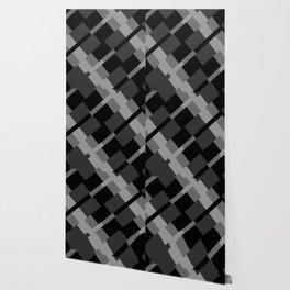 Diagonal Squared Wallpaper