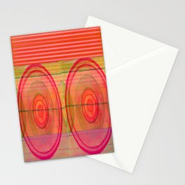 double pink Stationery Cards