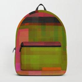 pinks beside greens Backpack