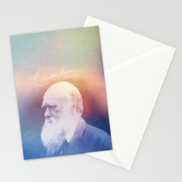 Heart Of Stone. Darwin. 1809-1882. Stationery Cards