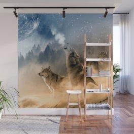 Moonrise Howl Wall Mural