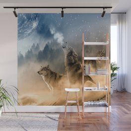 Moonrise Howl Wall Mural