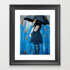 Sink or Swim Framed Art Print
