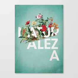Naturaleza Canvas Print