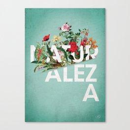 Naturaleza Canvas Print