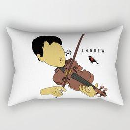 Andrew Bird (Band Art) Rectangular Pillow