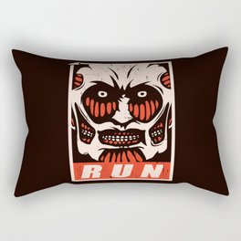 Run Rectangular Pillow