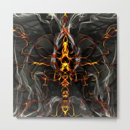 Ode to the Soul-Less Metal Print