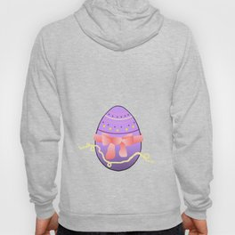 Egg and Pink Bow 01 Hoody
