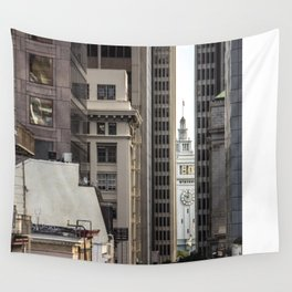 Embarcadero from Chinatown Wall Tapestry