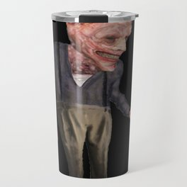the man with candy Travel Mug