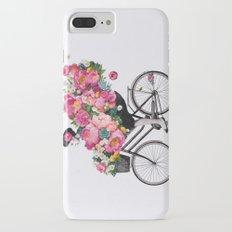 floral bicycle  iPhone 7 Plus Slim Case