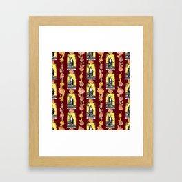 Beautiful Tarot Magician Print Framed Art Print