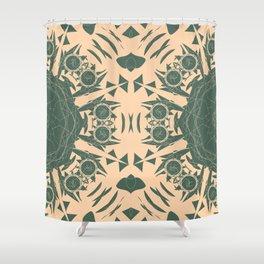 A More True Green Shower Curtain
