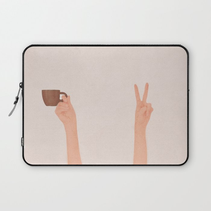 Good Peaceful Morning Laptop Sleeve