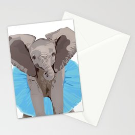 The Fanciest Elephant Stationery Cards