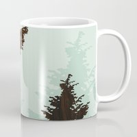 norway Mugs featuring norway  by jefdesigns