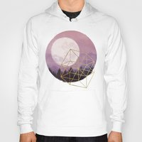 the moon Hoodies featuring moon by Laura Graves