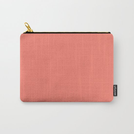 (Salmon) Carry-All Pouch