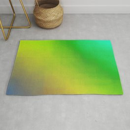Multicolored Tie dyeing Rug