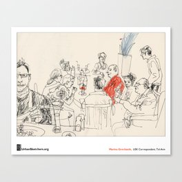 "Marina Grechanik, ""Meal"" Canvas Print"