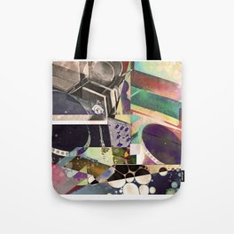 Psychedelic Music Tote Bag