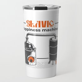 Slavic Happiness Machine Travel Mug