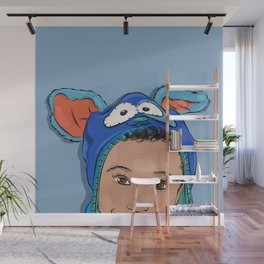 My Bunny Hat Wall Mural