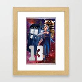 Doctor 13th Framed Art Print