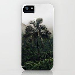 Cloudy Hawaii (2) iPhone Case