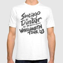 Santiago + Dunbar Wavelength Tour '03 T-shirt