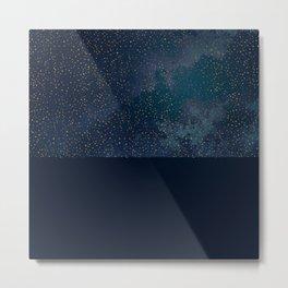 Midnight Winter-PillowCase-2 Metal Print