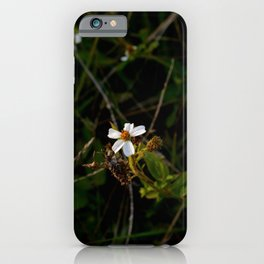 Blossom White iPhone Case