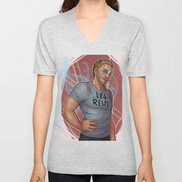 """""""Douchebag t-shirt"""" Cullen Unisex V-Neck"""