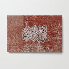 Graffiti in Hochelaga Metal Print