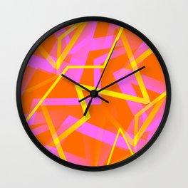 Calypso - Abstract Wall Clock
