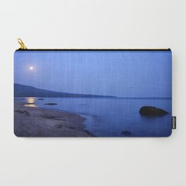 Moon Shimmering on Superior Carry-All Pouch