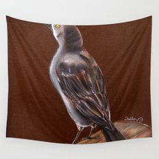 Carib Grackle Wall Tapestry
