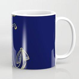 Anchor in Blue Coffee Mug