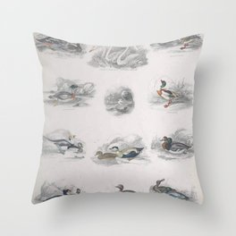 British Birds 1025 Throw Pillow