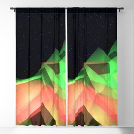 3D Glow Trip Blackout Curtain